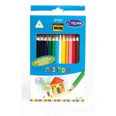 עפרונות צבעוניים עבים - אומגה
