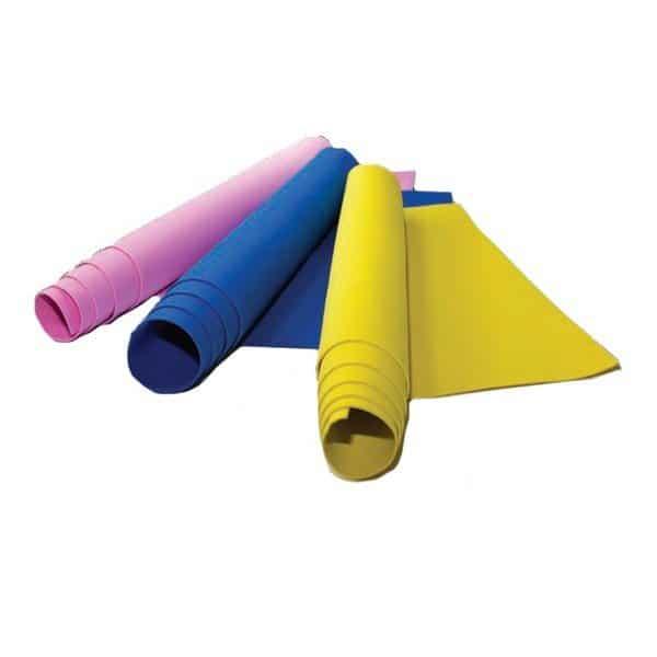 גיליונות סול צבעוניים